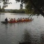 pokojná plavba krásným prostredím Váhu