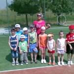 trénerka s malými